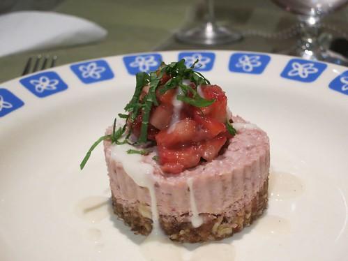 Urban Acorn - Strawberry Field Cheesecake Forever Vegan Cheesecake