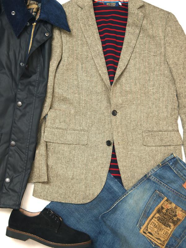 J.Crew / Ludlow Sportcoat In Herringbone