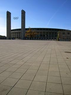 Berlin, historic Olympia Stadion
