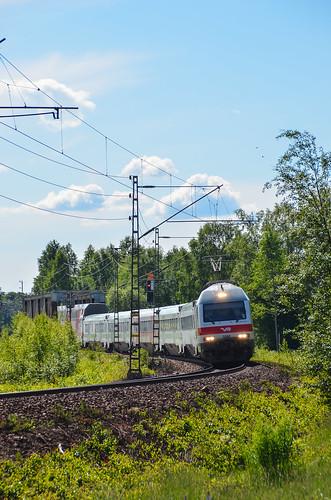 summer june electric finland ic nikon locomotive vr intercity kannus sr2 2013 d7000 ic43