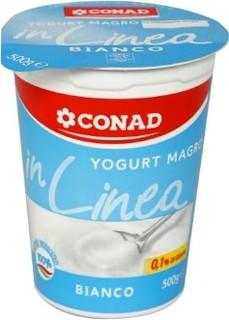Yogurt Bianco Magro In Linea Conad