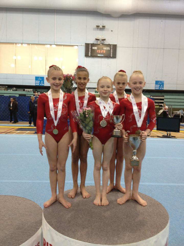 Bri Sh Age Group Championships 2012 Voluntary Level 4 Team