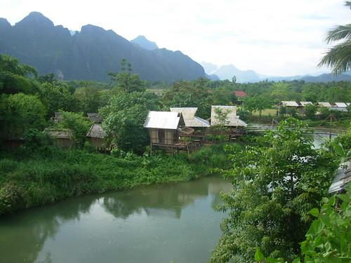 Vang Vieng-Ville-Rivière (7)