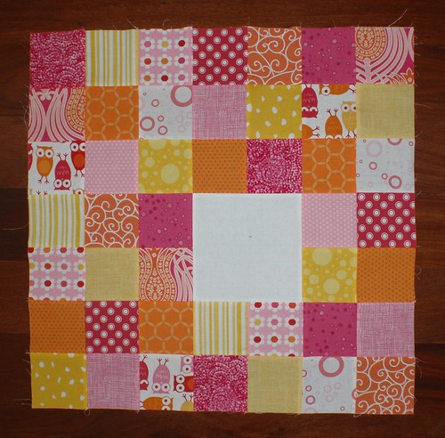 Patchwork Cushion top for Miss L