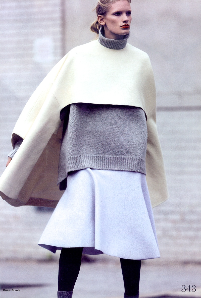 large wool coat
