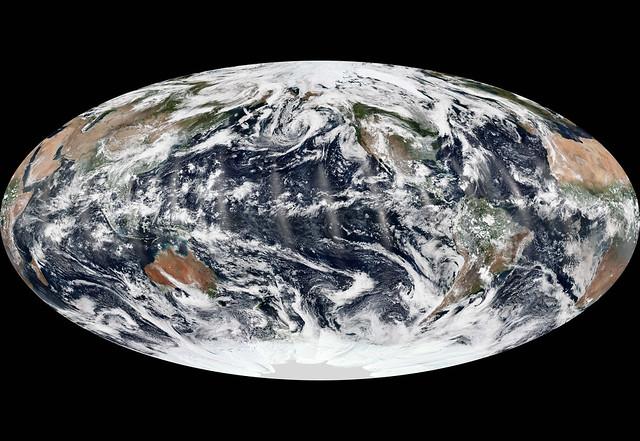 Tres océanos con ceos en calma (8 set. 2013)