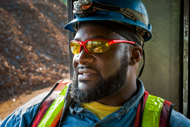 Steel Mill Portraits: Contractors