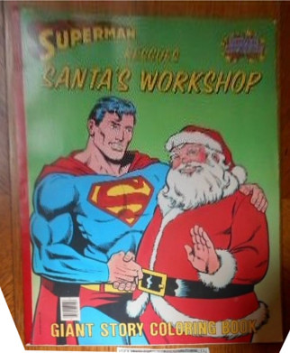 coloring_supermansanta