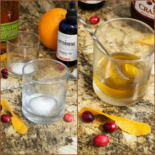 Cranberry Old Fashioned