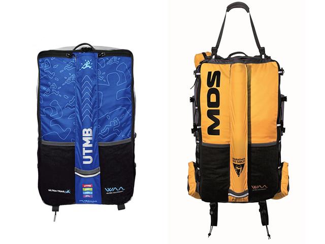 Το Ultrabag με τα χρώματα του UTMB και του MdS...
