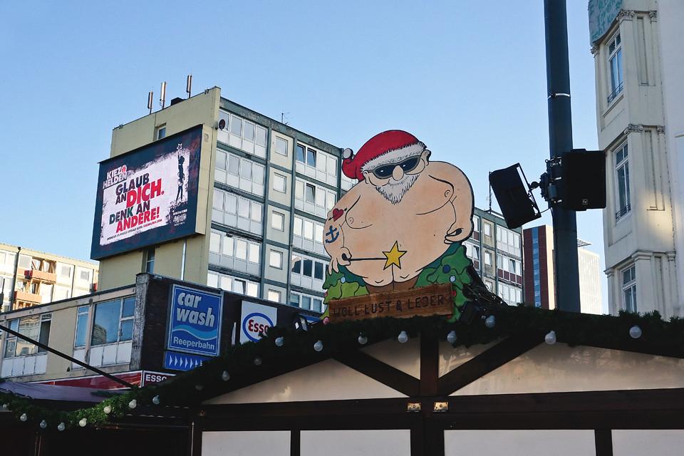 Santa Pauli Weihnachtsmarkt Hamburg