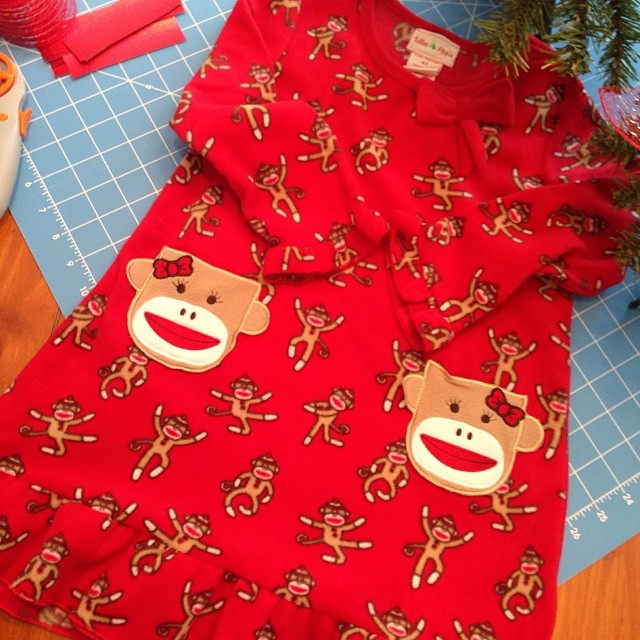 Crackel Barrel had some cute Christmas PJ's. Now I just need to figure out something for Nathan. Maybe a red shirt and red/black plaid pants. hmph.