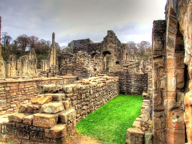 Durham Visit 2013 04 155 Finchale Abbey HDR
