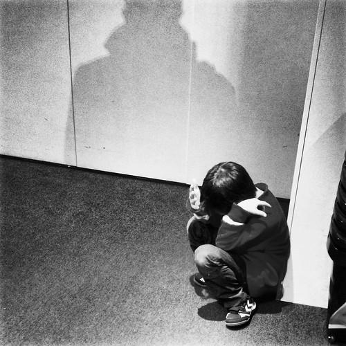 L'enfant qui avait peur