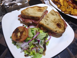 Bacon and Brie sandwich