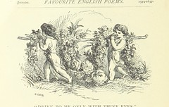 """British Library digitised image from page 122 of """"Favourite English poems and poets. Illustrated with ... engravings on wood from drawings by eminent artists. New and improved edition"""""""