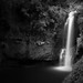 Kaiate Falls b&w by neco.w