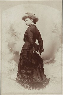 Emily Spragg (Cabinet Card by Keniston, 567 Washington Street, Boston, Massachusetts)