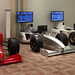 Three F1 Simulators with Sony Branding