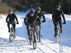 Cleeve Hill in the snow 2009