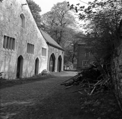 Gawthorpe Hall Great Barn 1970