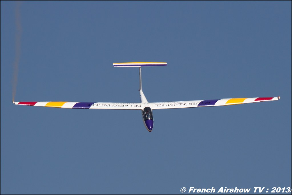 Planeur B4 Pilatus de Denis HARTMANN au Free Flight World Masters Valence 2013, Meeting aerien 2013