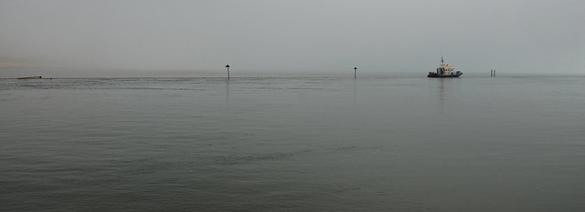 Mist at Rye Harbour