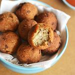Soya Keema Fritters Recipe