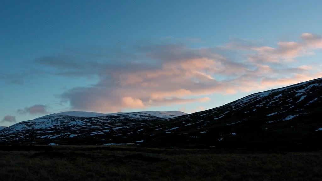 Last light over Carn an Tuirc