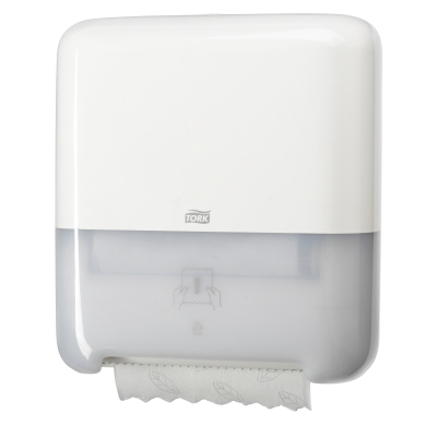 Tork Matic Hand Towel Roll Dispenser H1 White Supershine