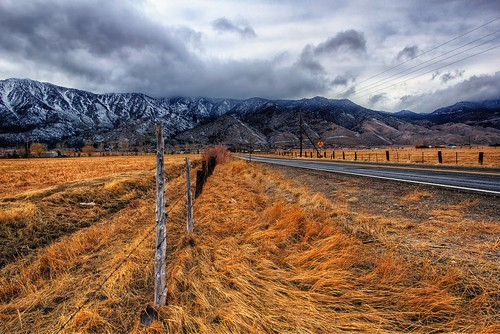 road storm grass rain clouds fence post laketahoe pasture fields carsonvalley kingsburygrade