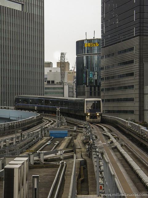 Monorrail hacia Odaiba