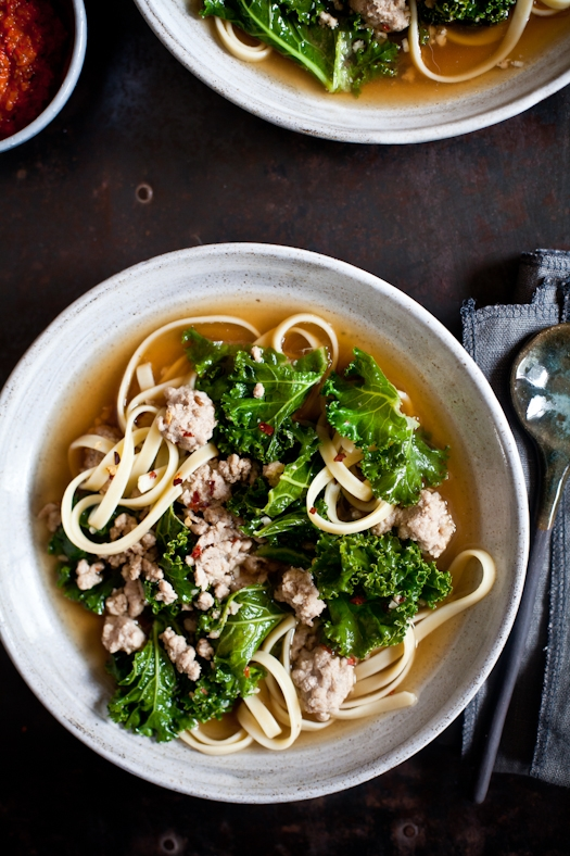 Pork Kale Soup