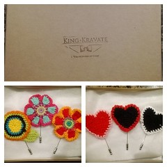 We just recieved a special delivery from @kingkravate #style #lapels #nice