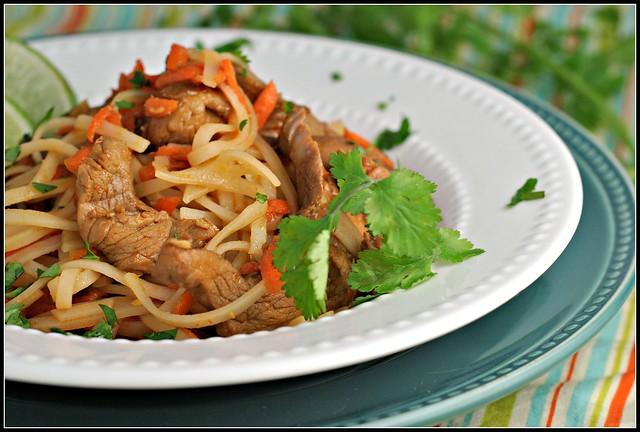 Hoisin Pork with Rice Noodles 3