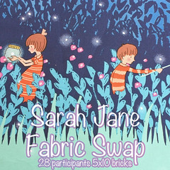 Sarah Jane Fabric Swap