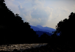 Rio Quijos, Rainforest, Ecuador