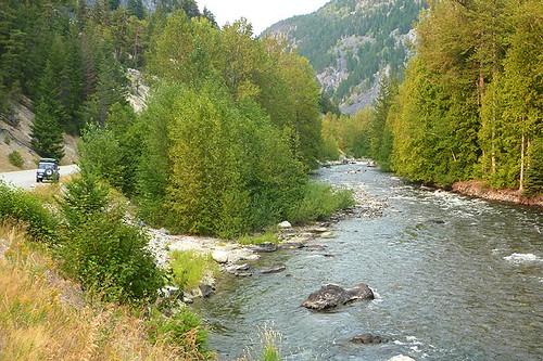 Atnarko River, Tweedsmuir South Provincial Park, Chilcotin, British Columbia, Canada