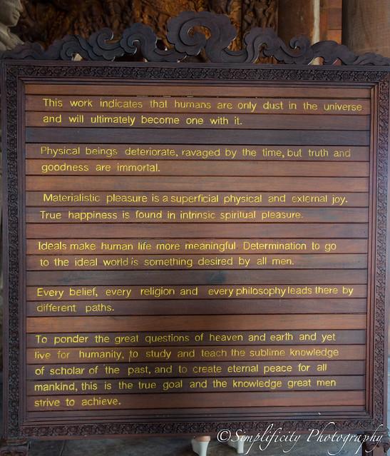 ปราสาทสัจธรรม พัทยา Truth Castle