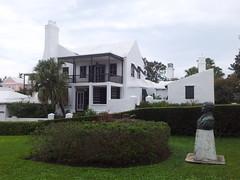 Old house on Bermuda