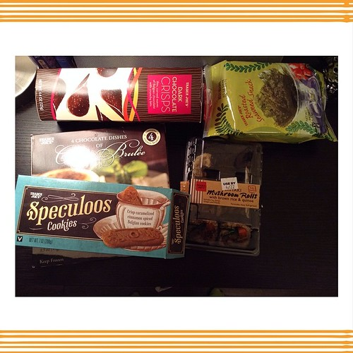 Goodies from Trader joes.