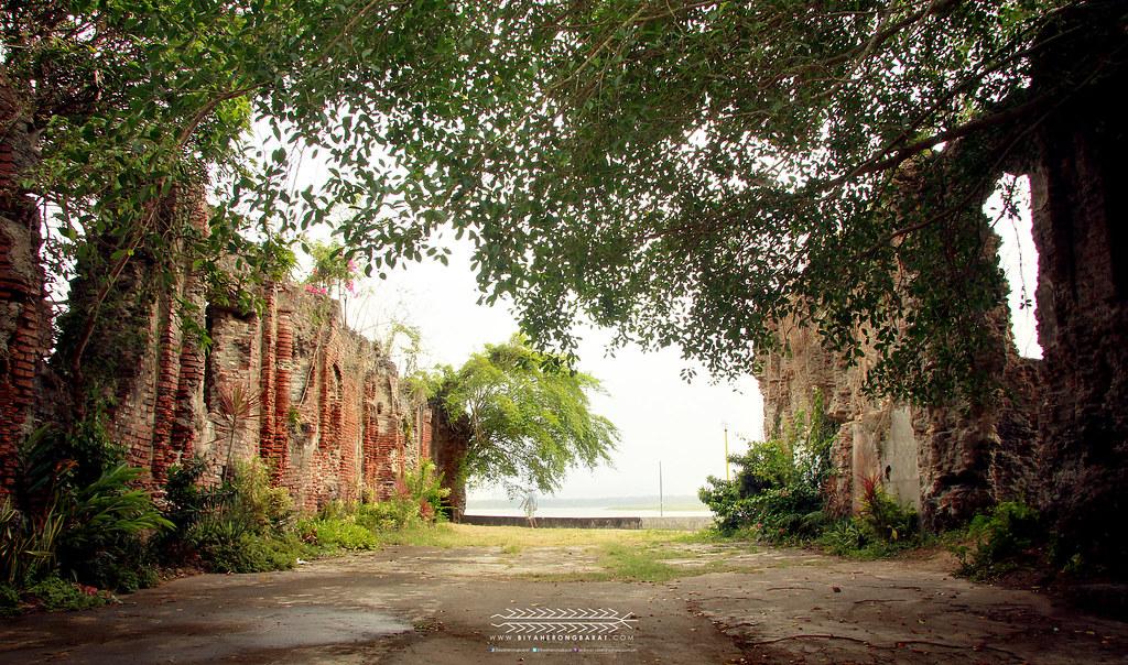 ruins of the old san jacinto parish church in camalaniugan cagayan