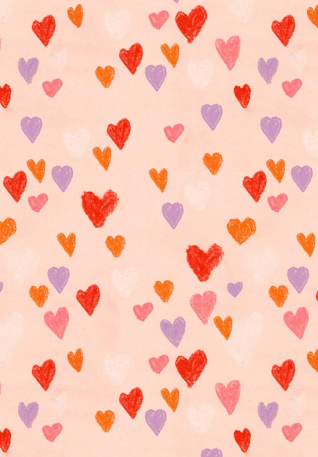 hearts pattern bigger