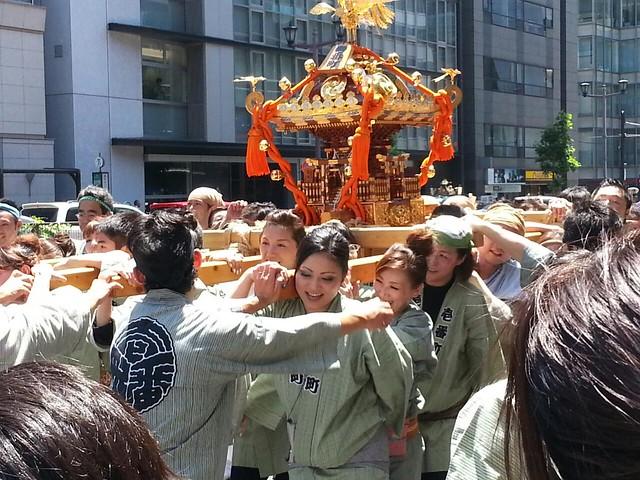 麹町。日枝神社山王祭。