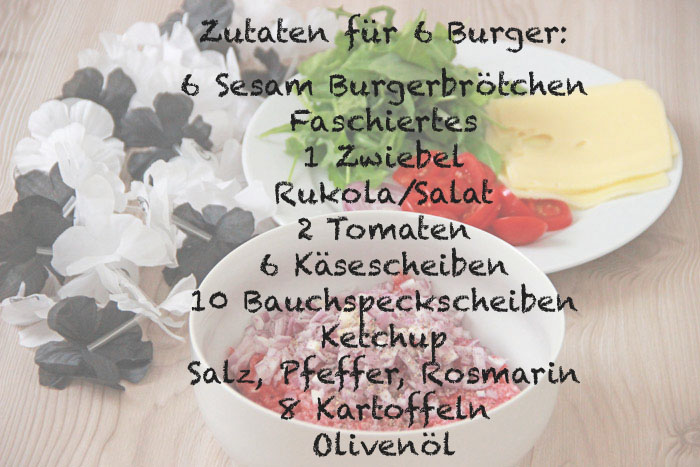 Suechtig_nach_Bacon_Cheese_Burger 02 Zutaten