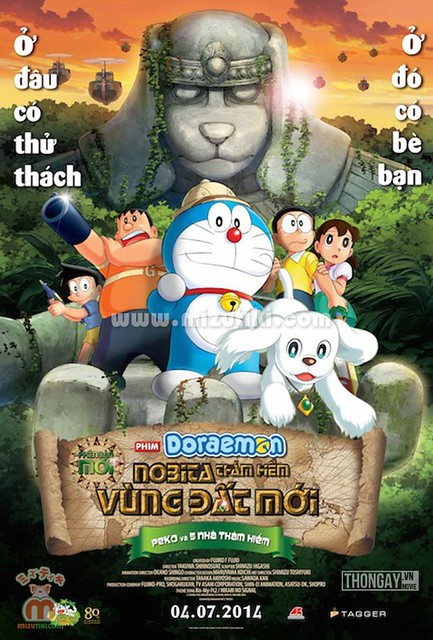 Phim Doraemon: Nobita Thám Hiểm Vùng Đất Mới - Nobita And The New Great Haunts Of Evil