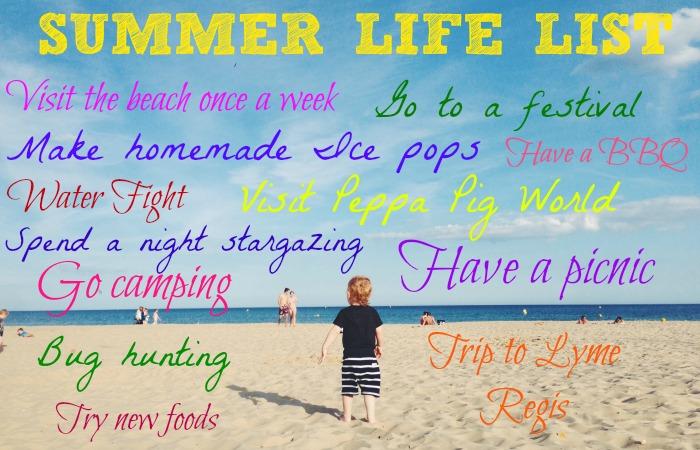 summer life list