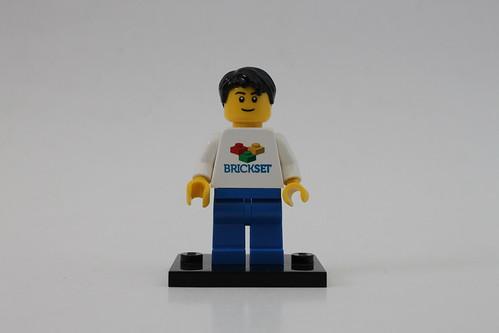 Brickset LEGO Minifigure
