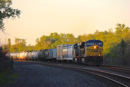 railroad train rail railway freight csx hamburgny