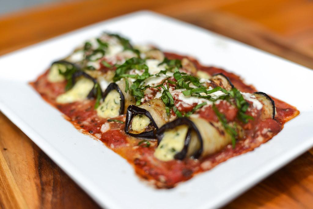 Grilled Eggplant Rollatini